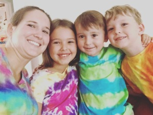 It was a tie-dyed Tuesday!