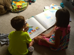 our big books are fun to bring out on a rainy day!