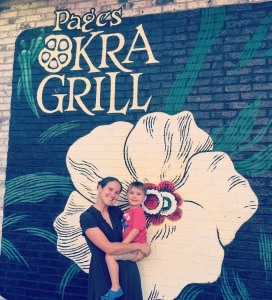 page's okra grill was delicious!