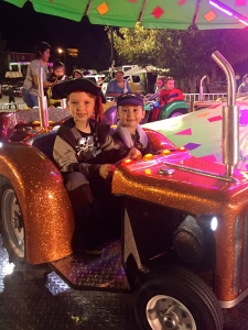 """They had so much fun at """"Light up the Night!"""" Thank you, Nanny, for joining us!"""