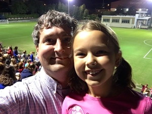 Date night at the soccer field! Go Gamecocks!