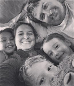 family snuggles are my favorite!