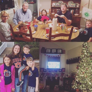 family, football, and food!