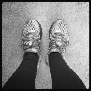 new shoes, the lake murray dam, a good long run, and the big boo mama podcast