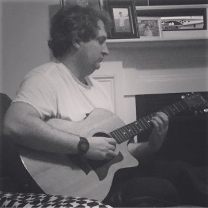 hearing him play the guitar will always be one of my most favorite things